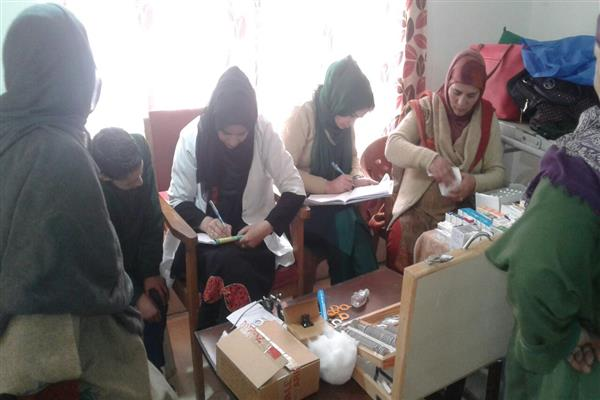 Free medical camp organised in Nowgam